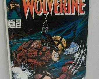 1992 Marvel Comics Presents Wolverine #99   VF-NM Unread Condition Vintage Marvel Comics Comic Book