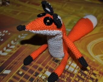 Fox, Crochet fox, little fox