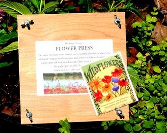 Handmade Flower Press