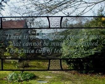 Quote Panel - Tea