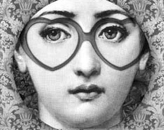 Lina Cavalieri I heart plate
