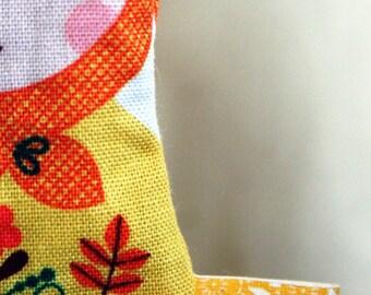 Matryoshka Doll sachet - lavender and flax seed
