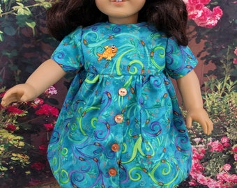 Spring/Summer Doll Dress - fits 18 Inch Dolls