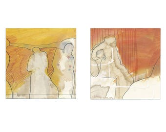 Diptych, two-part original