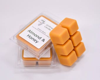Almond & Honey Scented Wax Melt
