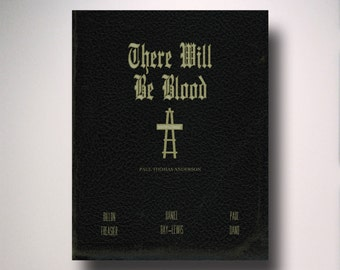 There Will Be Blood Movie Poster / Wall Art / Movie Film Poster