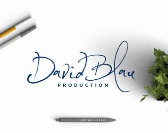 Your Signature Logo, Initial Premade logo, Custom logo, Hand drawn logo, Photography logo