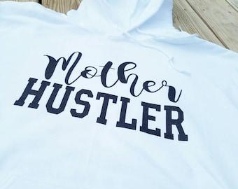 Mother Hustler, Mother Hustler Hoodie, Hoodie, Mommin Hoodie, Mommin sweatshirt, Mother Hustlers, Mother Hustler Short, Glitter