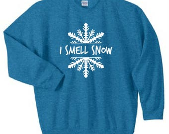 Gilmore Girls Sweatshirt- I Smell Snow