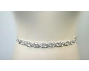 Bridal sash, bridal belt, wedding dresss sash, bridal belt for wedding