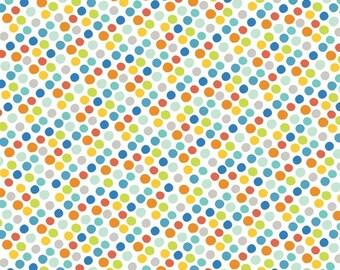Blend Fabrics - Gumballs Blue - Alfie & Bettie Collection - 101.110.03.2