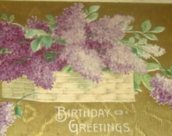 Nice vintage Floral Postcard