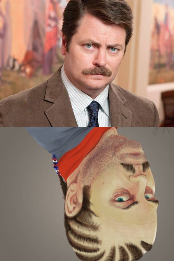 Ron Swanson Parks And Recreation Dirtyclean Dishwasher