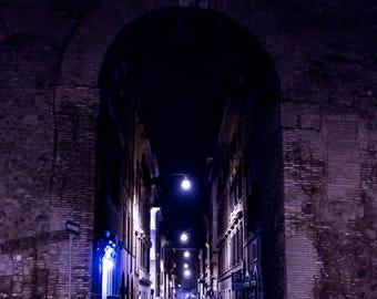 Dark Alley in Rome
