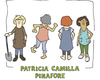Patricia Camilla Pinafore Pattern