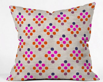 Diamond Weave Throw Pillow