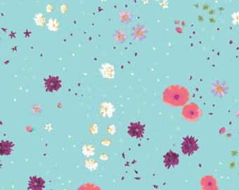Art Gallery Fabrics - Coastal Garden Cielo from Mediterraneo by Katarina Roccella