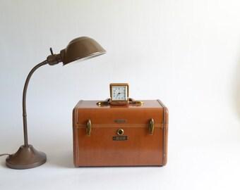 Vintage Industrial Goose Neck Desk Lamp Industrial Style Decor Brown Metal Desk Table Lamp Industrial Lighting
