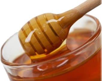 Shea Butter Lip Balm Honey Bee Flavor  Vegan or Natural Blend