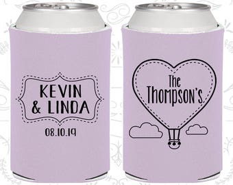 Lilac Wedding, Lilac Can Coolers, Lilac Wedding Favors, Lilac Wedding Gift, Lilac Wedding Decor (228)