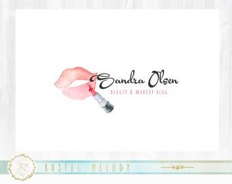Makeup Artist Logo, Lips Logo, Photography Logo, BeautyBoutique Logo, Beauty Logo, Decor Logo  Watermark