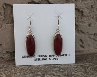 Jasper and Stering Silver Earrings