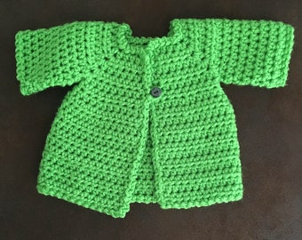 Handmade Dark Green Sweater