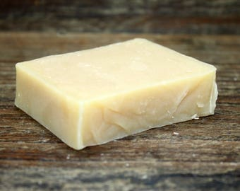 Lemongrass  Essential Oil Handcrafted Goat Milk Soap ,Made in Maine , Sensitive Skin , Moisturizing Bath and Body Soap