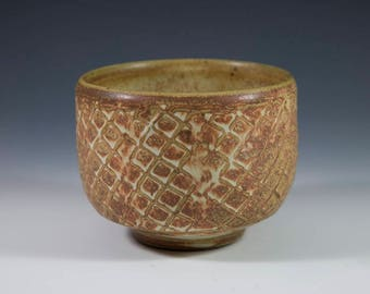 Earthy Red Pottery Tea Bowl | Chawan