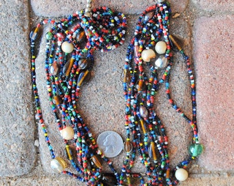 Indian Glass Strands