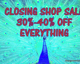 Closing Shop Sale