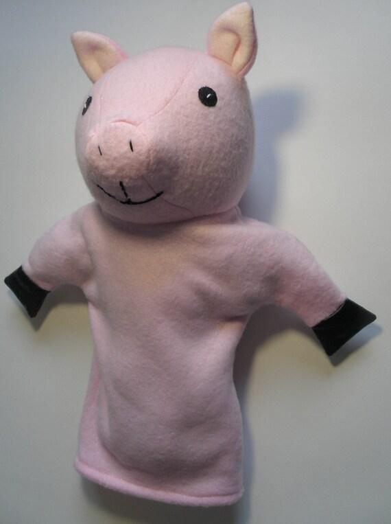 Patrón de títere de cerdo