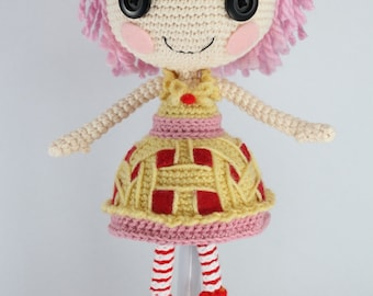 PATTERN: Cherry Crochet Amigurumi Doll