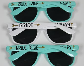 Personalized Sunglasses, Wedding Favors, Bachelorette Gifts, Bachelorette Party Favors, Destination Wedding, Flower Girl Sunglasses