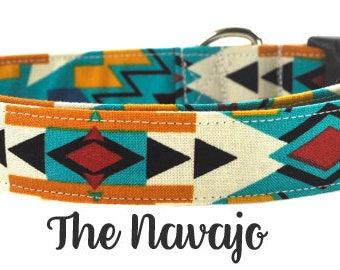 Multicolored Dog Collar - The Navajo
