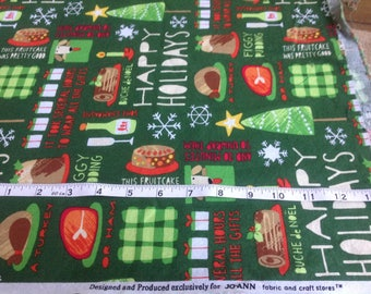 Christmas Fabric Designed exclusively for Joann Fabrics Figgy Pudding