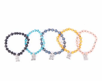 Mafrak bracelets -trust in your dream and be free - available in many colours