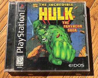 Incredible Hulk: The Patheon Saga - Playstation 1 (PS1)