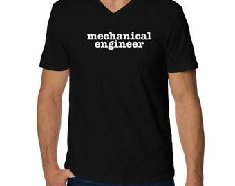 Mechanical Engineer V-Neck T-Shirt