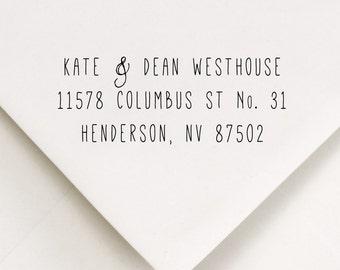 Return Address Stamp, Address Stamp, Personalized Stamp (549)