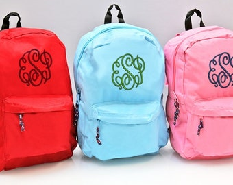 Personalized Back Packs