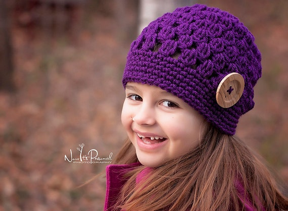 Crochet Patterns - Slouchy Hat Pattern - Crochet Hat Pattern ...