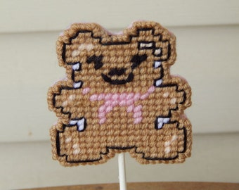 New!  Baby Shower Teddy Bear Cupcake Topper