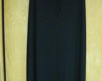 CLEARANCE  black  'Max Studio'  long skirt - size medium