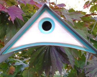 MODERN BIRDHOUSE | Outdoor Bird house | Unique Birdhouses