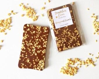 Honeycomb Belgian Chocolate Slab // chocolate bar // chocolate gift // foodie gift // gifts for him // gifts for her
