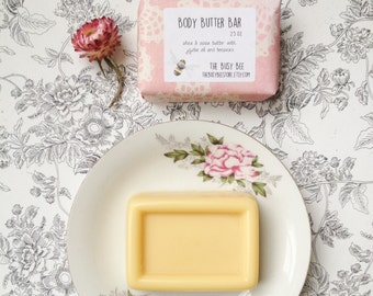 All Natural Body Butter Bar 2.5 oz - Bath and Beauty Product