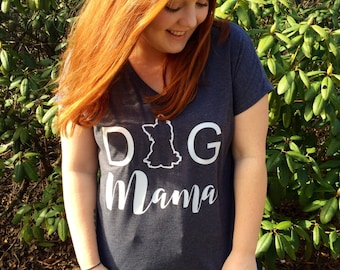 Dog Mama // Dog Mom // Dog TShirt // Dog Shirt // Dog Lover Gift // Dog Shirts for Women