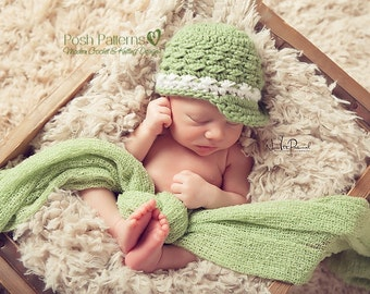 Crochet PATTERN - Crochet Hat Pattern - Newsboy Hat Pattern - Crochet Patterns for Babies - Baby, Toddler, Child, Adult Sizes - PDF 341