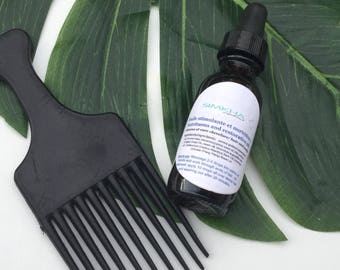 Hair Repair Serum, Vegan Hair Oil, 100% Natural Conditioner for Dry and Damaged Hair , Cedarwood, Lavender, ylang-ylang, growth hair serum
